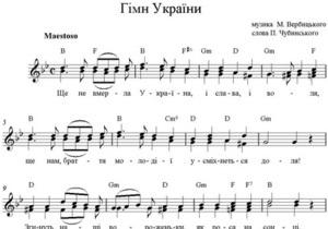 Депутат от Батьківщини предложил изменить гимн Украины