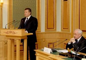 Янукович решил принять участие в заседании правительства