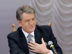 Ющенко рассказал студентам о сложностях украинской политики
