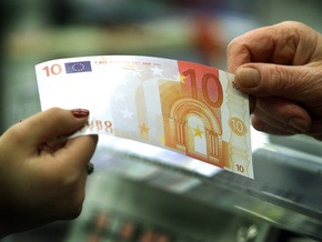 Наличный курс продажи: евро растет