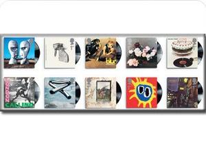 Обложки классических рок-альбомов станут марками