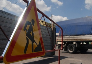 В Киеве в выходные ограничат движение транспорта по двум улицам