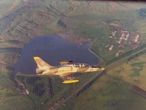 В России разбился учебно-боевой самолет
