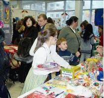 Британская Международная Школа приняла участие в благотворительной рождественской ярмарке