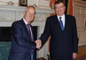 Великобритания намерена поддерживать евроинтеграцию Украины
