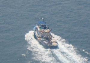 Украинские пограничники задержали в Черном море турецкую шхуну
