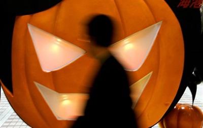 Празднование Хэллоуина в кинотеатре Кинопанорама