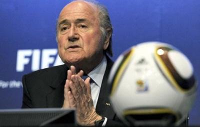 Президент FIFA извинился перед Криштиану Роналду