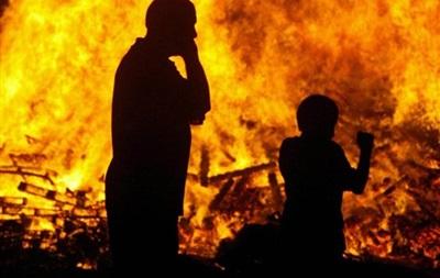 новости Одесской области - пожар - Затока - На базе отдыха в Одесской области огонь уничтожил пять домов