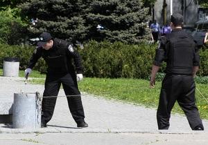 Основной версии теракта в Днепропетровске пока нет