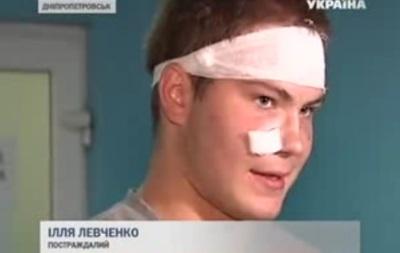Возле супермаркета в Днепропетровске произошел взрыв, пострадали два человека