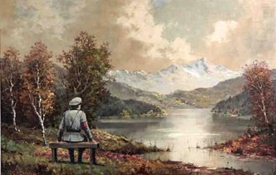Картину, дорисованную Бэнкси, продали за $615 тысяч