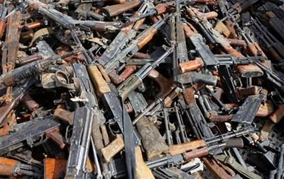 Оружие - сдача - В Украине стартовал месячник по сдаче оружия