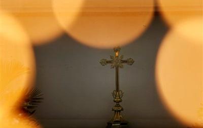 Крест гетеросексуалов. В Киеве прошел массовый протест пророссийских православных против  содомской  Европы - Ъ