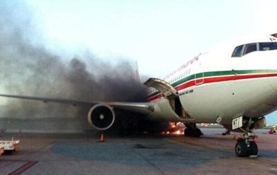 В аэропорту Монреаля загорелся авиалайнер, пять человек госпитализированы