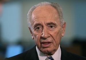 Перес уверен, что Израиль победит в случае конфликта с Ираном