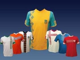 Футбольные вышиванки под Евро - сделано в Украине!