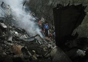 В результате авиакатастрофы в Пакистане никто не выжил