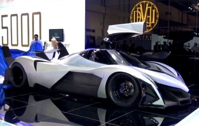 В Дубае представили арабский суперкар с 5000-сильным двигателем