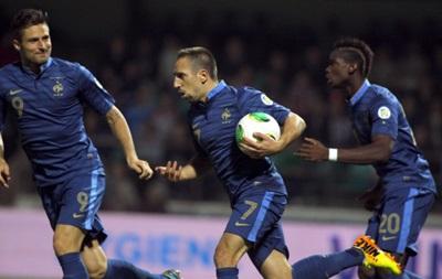 Украина - Франция: Дешам назвал состав сборной на матчи плей-офф