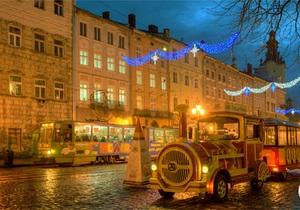 Встречать Новый год Львов приехало на 20% больше туристов, чем в прошлом году