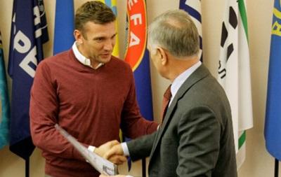 Андрей Шевченко получил тренерский диплом