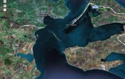 ЗН: Подготовленные к утилизации контейнеры с советским химоружием находятся в Керченском проливе на небезопасной глубине