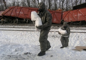Я-Корреспондент: Репортаж о ликвидации последствий железнодорожной катастрофы в Сумской области