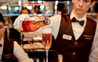 В Киеве откроют первый шампань-бар