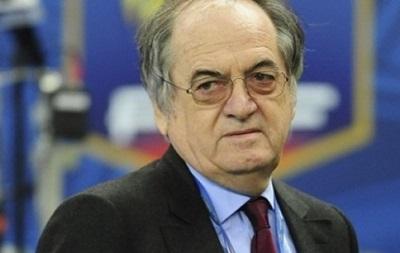 Президент Федерации футбола Франции уверен в победе над Украиной