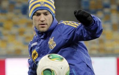 Тренировка сборной Украины перед матчем с французами. Фоторепортаж