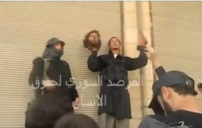 Сирийские боевики по ошибке обезглавили своего сторонника
