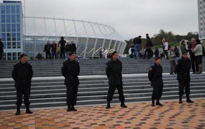 МВД в городе Киеве после матча Украина-Франция  призывают болельщиков не нарушать общественный порядок.