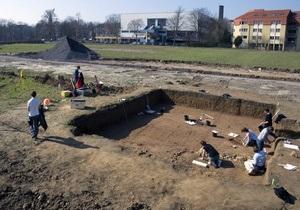 Немецкие студенты случайно нашли в университетском дворе древнеримский храм