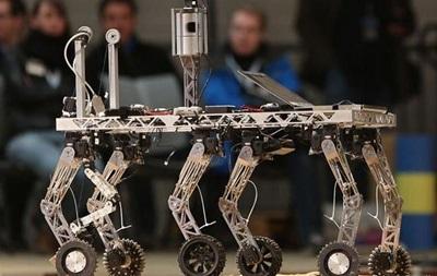 Немецкие планетоходы сразились за кубок роботов