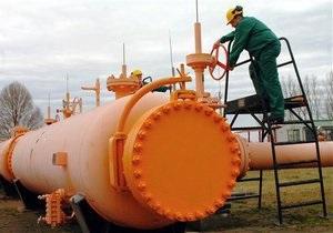 Украина не будет уменьшать объем закупок газа у России в 2013 году