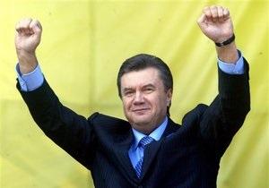 Янукович о выборах: Мы ни в коем случае не должны давить на людей