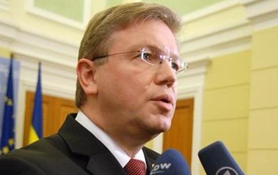 Фюле - визит - Завтра в Украину приедет еврокомиссар Фюле