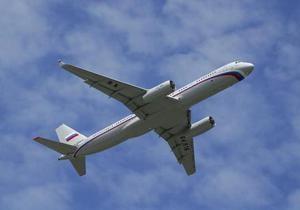Медведев пересел на новый самолет