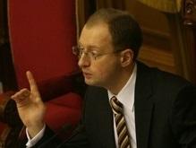 Яценюк предупредил Януковича, что Рада может обойтись без него