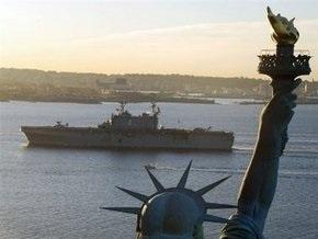 В Севастополь прибыл штабной корабль флота США