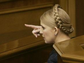 Тимошенко обвиняет Нацбанк в   коррупционных теневых операциях