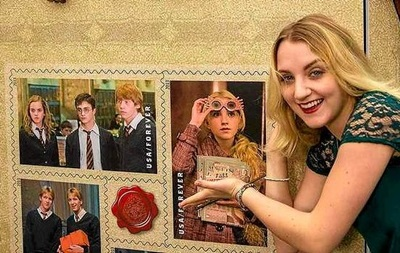 Почта США выпустила марки с изображением Гарри Поттера