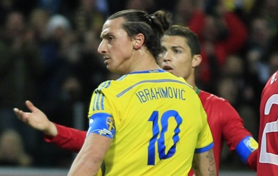 Ибрагимович: Я не аплодировал Роналду в матче сборных
