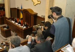 Пресса: журналистам дорого баллотироваться в Раду