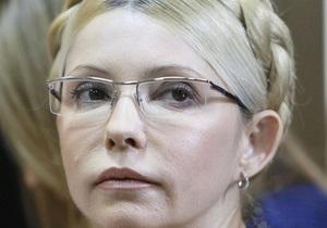 Немецкие врачи: Здоровье Тимошенко не позволяет ей принимать участие в судах
