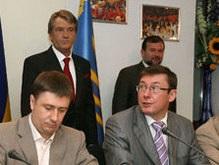 Народная Самооборона снова потребовала отставки Балоги