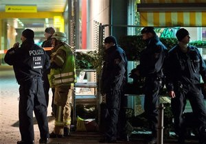 В Берлине неизвестный взял заложника и угрожает взорвать отделение Deutsche Bank