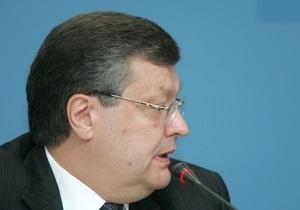 Грищенко принял посла РФ в Украине Зурабова