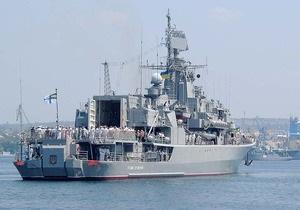 Украинские корабли готовятся к отправке на борьбу с сомалийскими пиратами